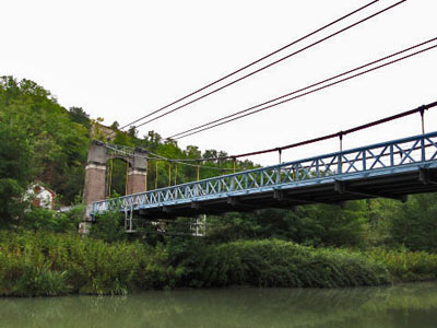 Le pont Coudol à Boudou